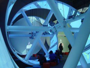 "Expo 2005 Lithuanian Pavillon ""2DNR"" © Konrad Kraemer"