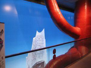 """Expo2020 Shanghai """"Hamburg house""""  - Der Rote Baum - © Konrad Kraemer"""
